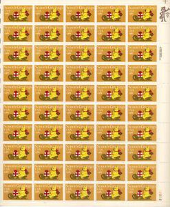 SCOTT #1940  SEASONS  GREETINGS  1981  20 CENT   SHEET   MNH