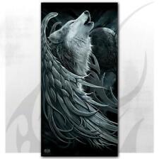 Spiral Direct Wolf Spirit Bath Towel