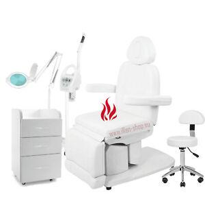 Kosmetikliege Massageliege Elektrische, kosmetikkabine KK-Azzuro 2081 Heizung