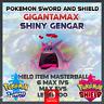 Gigantamax Shiny Gengar | Pokemon Sword & Shield | 6IVS | Level 100