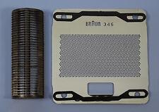 Kombipack Typ 346 Scherblatt + Messerblock für Braun Sixtant 346, 6006, 6007
