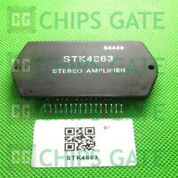 4PCS STK4863 Encapsulation:MODULE,2CHANNEL 35W POWER AMPLIFIER