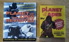 Planet of the Apes 2 Books Revisited Beind Scenes + Topps Trading Cards Series