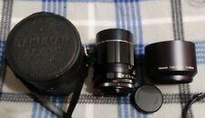 Asahi Pentax Super-Takumar Prime 135mm f2.5 M42 Screw Mt. CASE, SHADE, Rear Cap