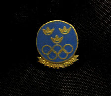 SEOUL 1988 Olympic SWEDEN  NOC  Delegation TEAM  pin VERY RARE