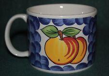 "Tabletops Unlimited - Italian Fruit - ""Peach"" Coffee Mug / Soup Cup"