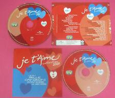 CD Compilation Je T'Aime 2 Collection 2007 MICHEL JACKSON CARMEN CONSOLI(C43)