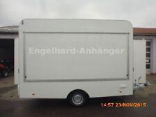 Verkaufsanhänger 370 x200 x230 cm - 1300 kg Imbissanhänger Verkaufswagen NEU TOP