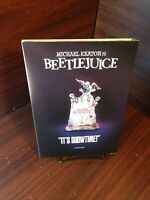 Beetlejuice (DVD)Warners Special Iconic Moments Collector Edition Slipcover-NEW~