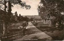 Castle Park, Colchester Postcard Posted 1914