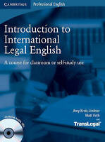 Introduction to International Legal English Student's Book with Audio CDs (2). A