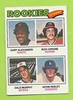 1977 Topps - Dale Murphy Rookie (#476)  Atlanta Braves