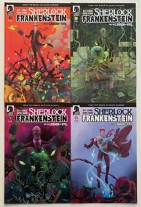 Sherlock Frankenstein #1 to 4 complete series (Dark Horse 2017) FN+ to NM issues