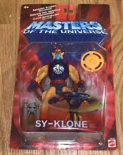 NEW HE-MAN MASTERS OF THE UNIVERSE MOTU 200X SY-KLONE ACTION FIGURE MATTEL
