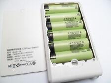 6 batterie 18x650 2500/2900/3000/3500 mAh3,7V flat ricaricabili con power bank
