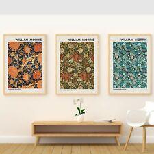 Set of 3 / William Morris Art Posters / A3 William morris art print