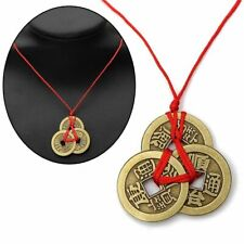 Chinese Necklace Lucky Coins Good Luck Necklace Feng Shui Pendant Fortune Money