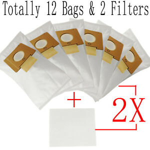 12 x Vacuum Cleaner Bags For Hoover SMART R1 4410 4430 5001 H4012 Synthetic
