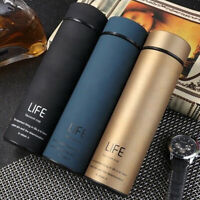 500ml Travel Mug Tea Coffee Vacuum Bottle Thermos Water Cup Insulated Flask WE9Z