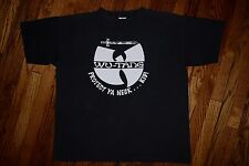 Original 1993 WU TANG Clan PROTECT YA NECK vtg 36 chambers 90s hip hop T-shirt