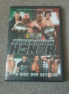 ROH Ring Of Honor - SUPERSHOW OF HONOR 2 II - 4 Disc DVD Set - PCW
