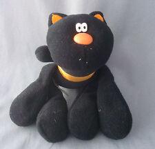 Hallmark Halloween black cat plush figure Hocus Pocus 1985 with butt tag