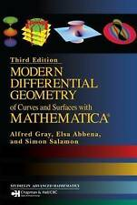 Modern Differential Geometry of Curves and Surfaces with Mathematica by Alfred Gray, Elsa Abbena, Simon Salamon (Hardback, 2006)