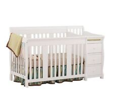 Baby Crib Changing Table Nursery Dresser Toddler Bed Daybed Full Storage Drawers