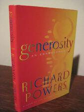 GENEROSITY Richard Powers NOVEL 1st Edition First Printing FICTION