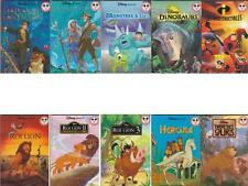 10 LIVRES COLLECTION DISNEY FRERE DES OURS-ROI LION-HERCULE-DINOSAURE-L'ATLANTID