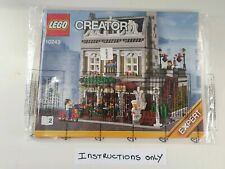 Lego Creator Parisian Restaurant 10243 ☆ INSTRUCTIONS ONLY ☆ New