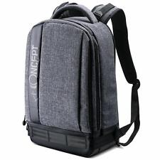 K&F Concept Large Grey Camera Backpack Bag Laptop Waterproof for SLR Canon Nikon