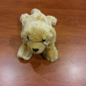 "Aurora World Floppy Plush Adorable Goldie Labrador Dog, 12"" Handmade EUC"