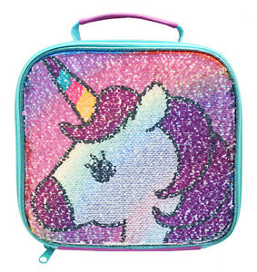Unicorn Sequin Reveal Lunch Bag