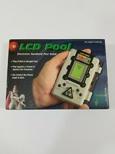 Vintage Excalibur LCD Pool Electronic Handheld Game 413 One or Two Players