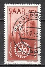 Germany / Saarland - 1955 50 years Rotary International - Mi. 358 FU