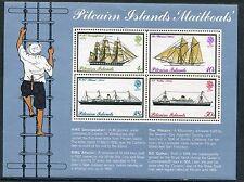 pitcairn island 1975 bf 2 navi postali MHN