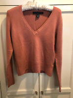 French Connection Sweater V Neck Soft Knit Size L Fits M Long Sleeve