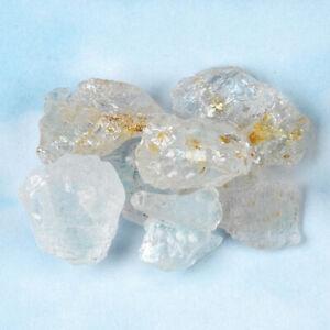 "One Rare African Elestial Phenacite Phenakite Crystal Most w/Rainbows .25"" - .4"""