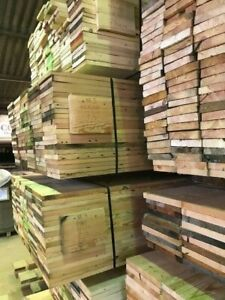 Pine Floor Boards Cut From Old Reclaimed Joists Remanufactured Flooring