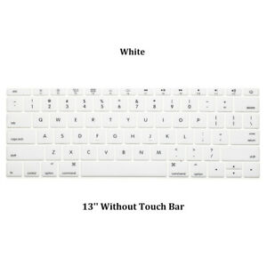 Language Letter Keyboard Cover Protector Film Sticker For MacBook Pro 13 15