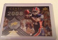 James Hardy  Bills 2008 Upper Deck Icons Rookie Class 2008 Silver #CO28  381/750