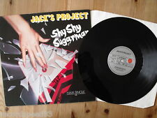 "12"" JACK´S PROJECT - Shy Shy Sugarman - ´86"