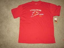 IOWA STATE CYCLONES Izod tee T-shirt-Large-NWT Ret $30