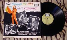 ♫ Shelley Fabares ♫ The Things We Did Last Summer 1962 1ST PRESSING COLPIX 431