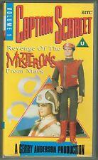 Captain Scarlet Volume 1 VHS Video - Revenge Of The Mysterons From Mars 1992