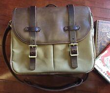 RJL LTD FIELD BAG Type 1 By Vermilyea Pelle, Horween Bison,  Horsehide