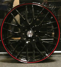 """4 x 17"""" CALIBRE ALLOY WHEELS TO FIT FORD FIESTA FOCUS 4X100/108"""
