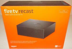 New Amazon Fire TV Recast B074J1GPB8 1TB Streaming Media Player w/Wi-Fi - Black