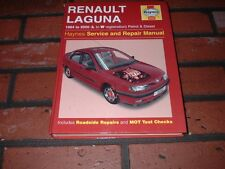 HAYNES MANUAL FOR RENAULT LAGUNA. 1994 TO 2000. L TO W REGISTRATION